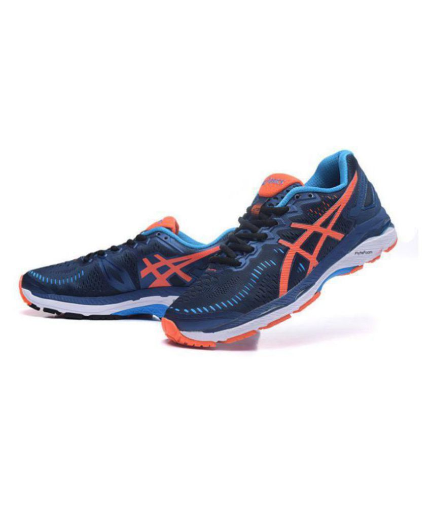 best sneakers 96bef 7b202 Asics GEL KAYANO 23 Navy Running Shoes