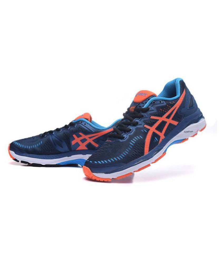 best sneakers 067f0 83579 Asics GEL KAYANO 23 Navy Running Shoes