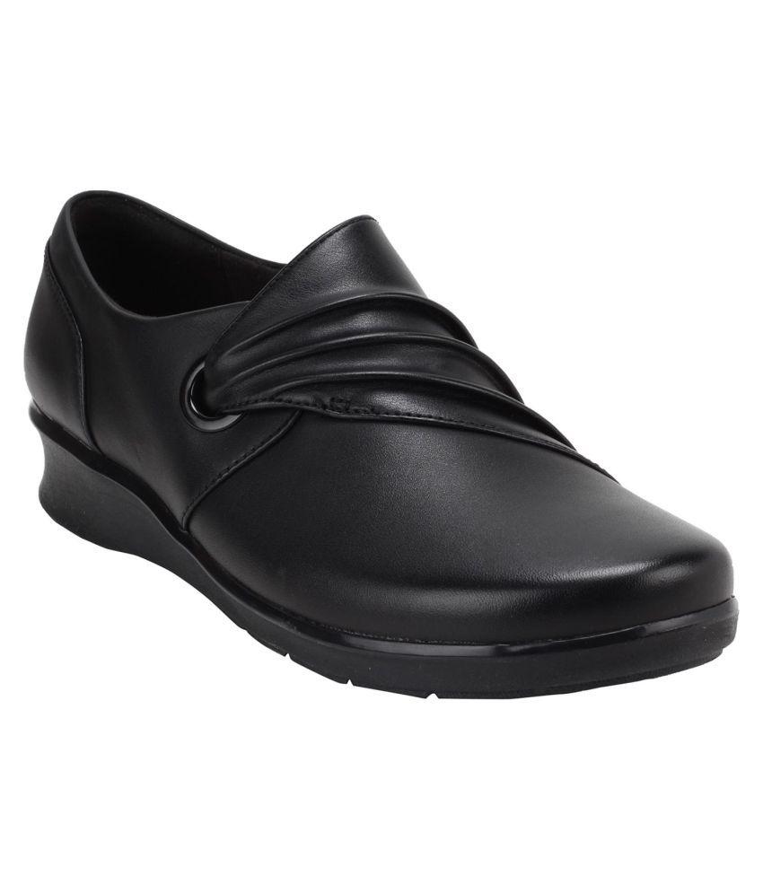 Clarks Black Block Heels