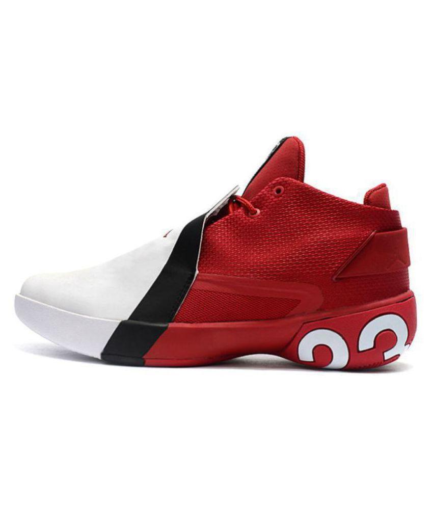 the best attitude c946e d7296 Nike Jordan Ultra Fly 3 White Basketball Shoes