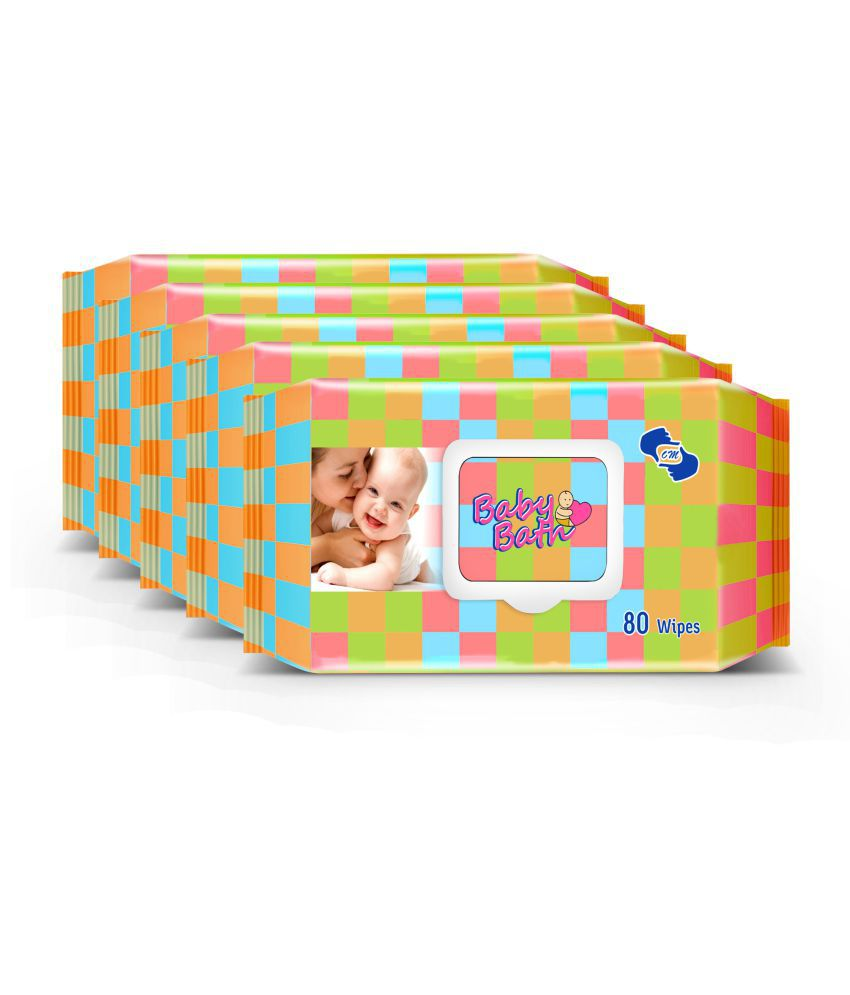 OM Baby Wipes - 5 Pack