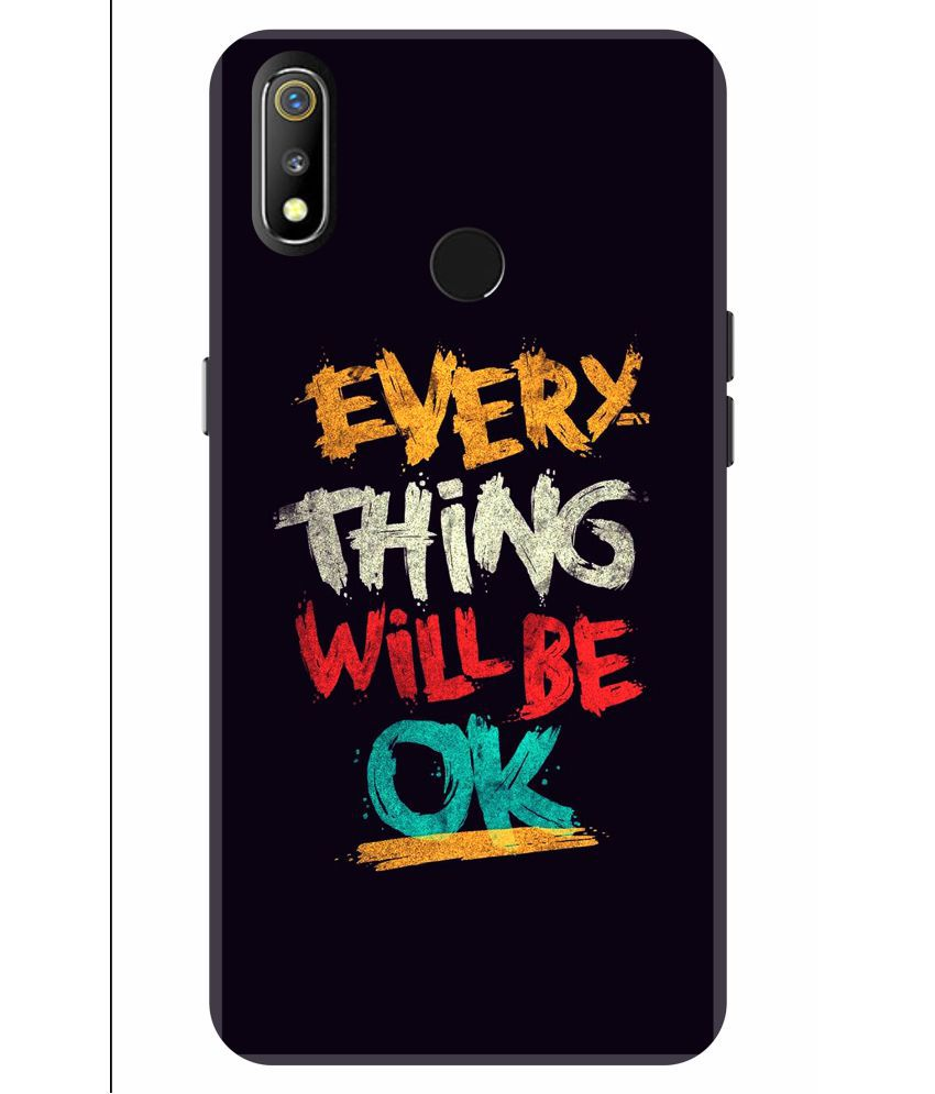 Realme 3 Pro Printed Cover By VINAYAK GRAPHIC The back designs are totally customized designs