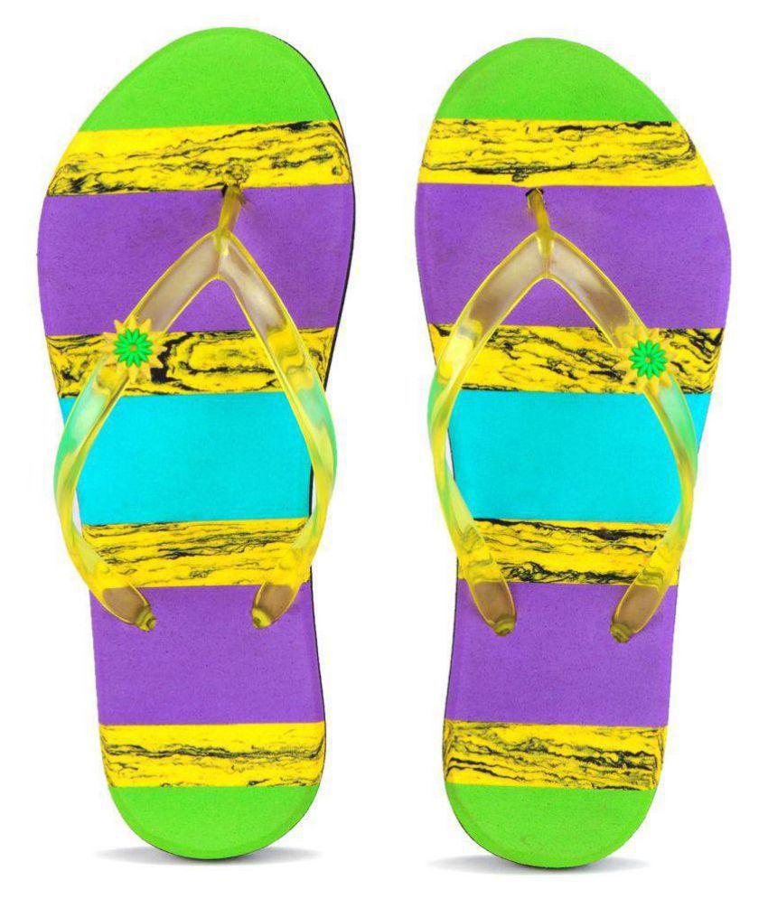 PKKART Multi Color Slippers