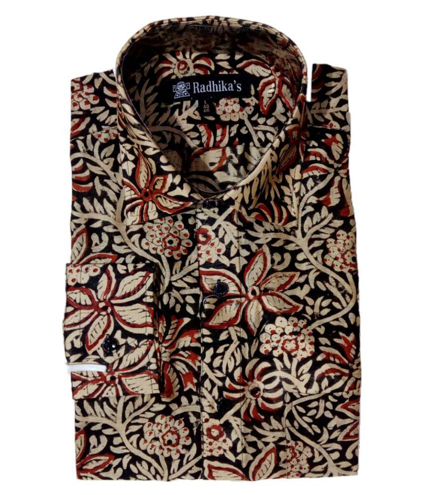 Radhika's Silk Multi Prints Shirt