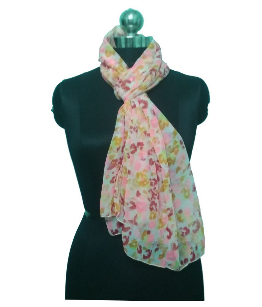 BARAKATH Multicoloured Floral Shawl