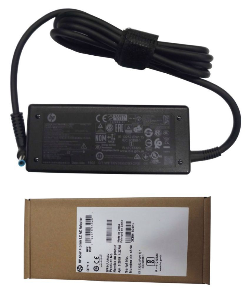Original Genuine HP Laptop adapter compatible For HP Pavilion 15-P239SA 65W Power Supply Battery Charger 4.5MM X 3.0MM