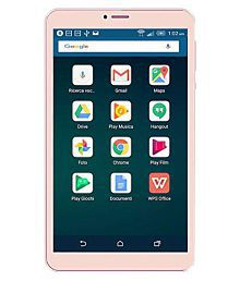 i kall mobile N1 4G 8 Inch 2+16 Gold ( 4G + Wifi , Voice calling )