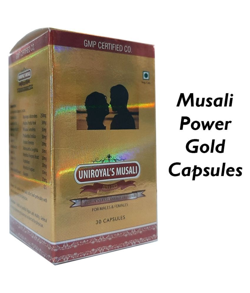 Uniroyal Herbals Musali Power Gold Capsule 30 no.s