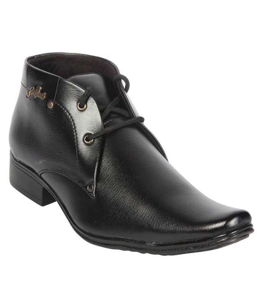 Semana Oxfords Non-Leather Black Formal