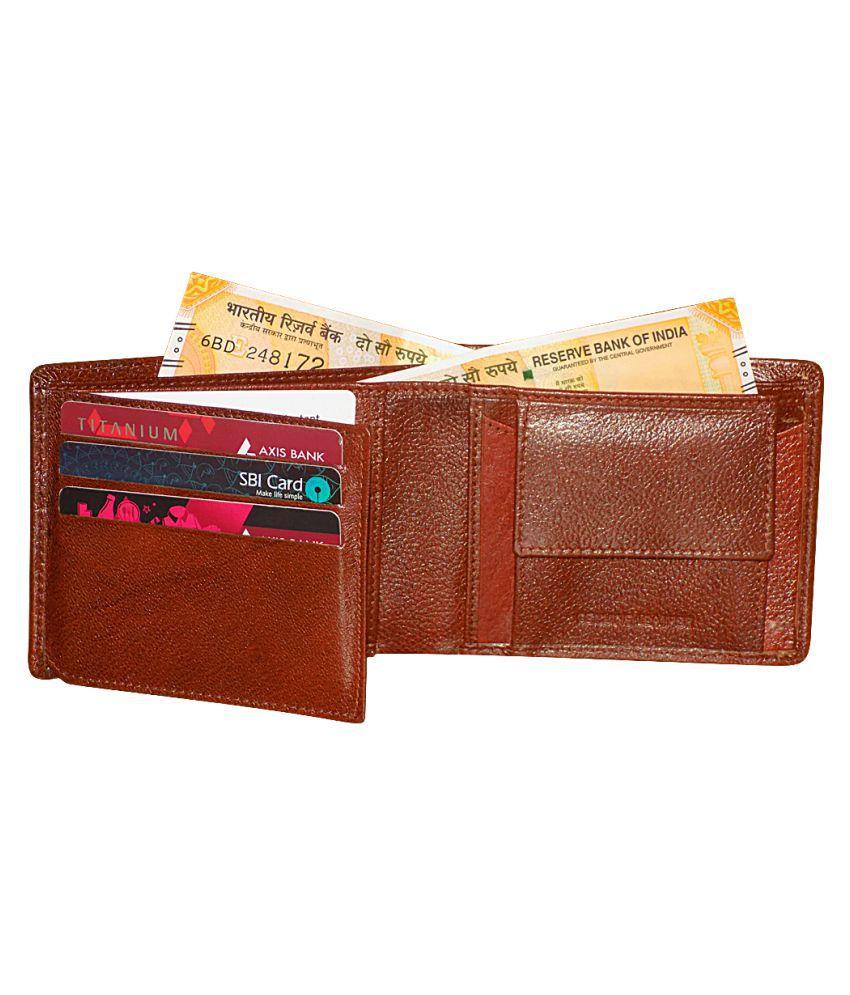 Style 98 Leather Brown Formal Regular Wallet