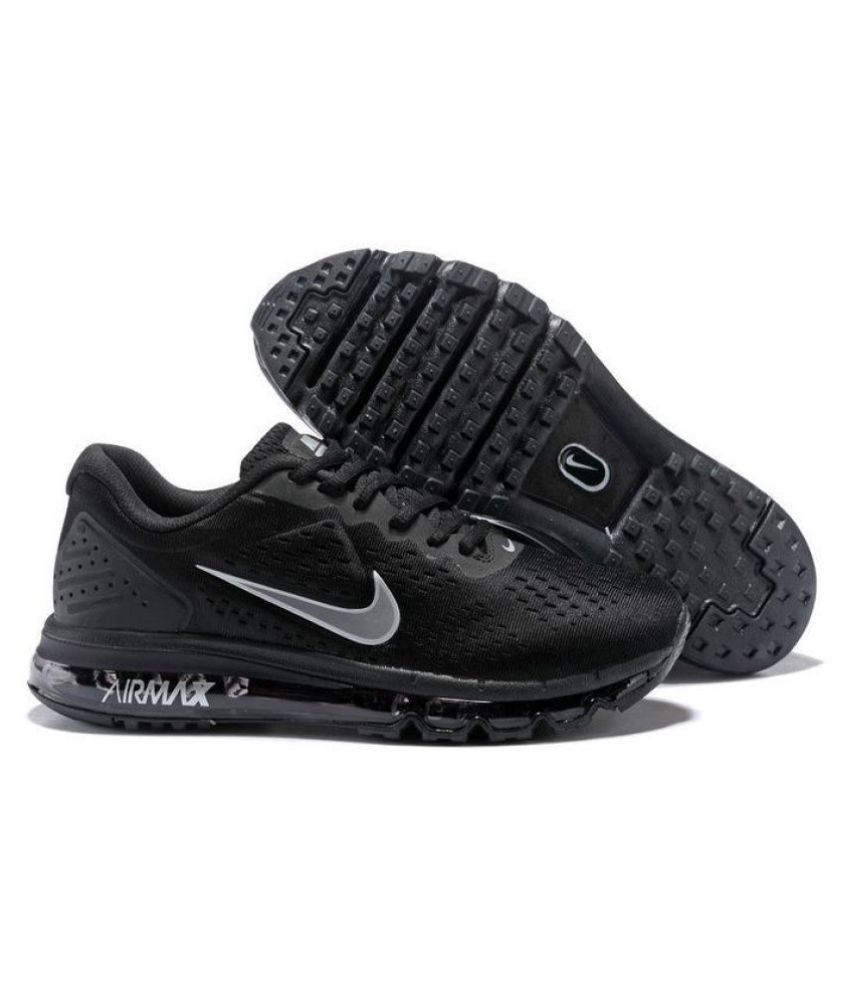 best loved 04944 45c8a Nike AIR MAX OFF-WHITE 2019 Running Shoes Black
