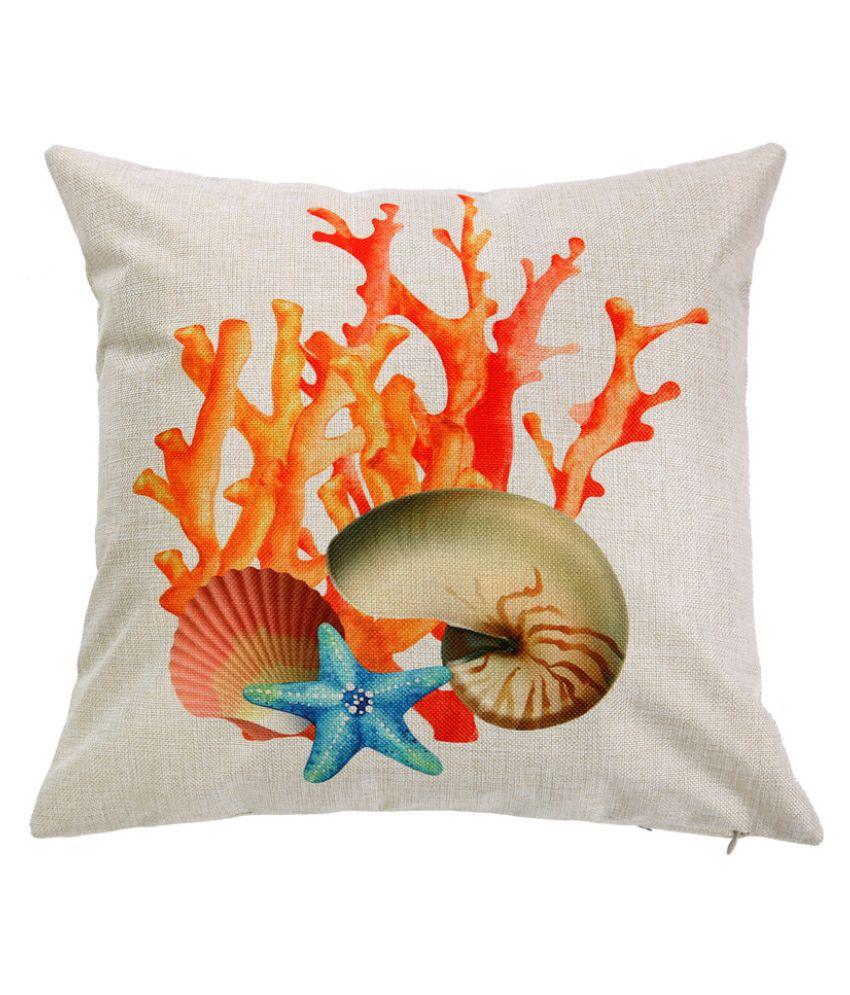 """18/"""" Ocean Beach Sea Cotton Linen Pillow Case Sofa Throw Cushion Cover Home Decor"""