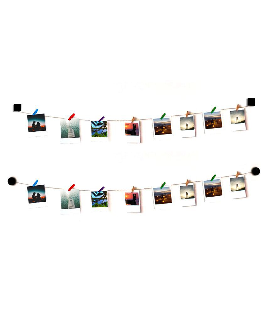 VAH VAH Round and Square wooden  Wall Hanging Wood Photographs Without Frame