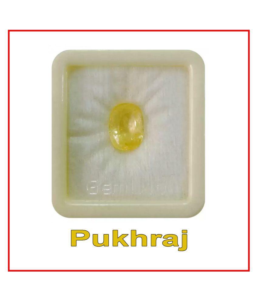 R.K GEMS/ Best Quality Yellow Sapphire Unisex Gemstone
