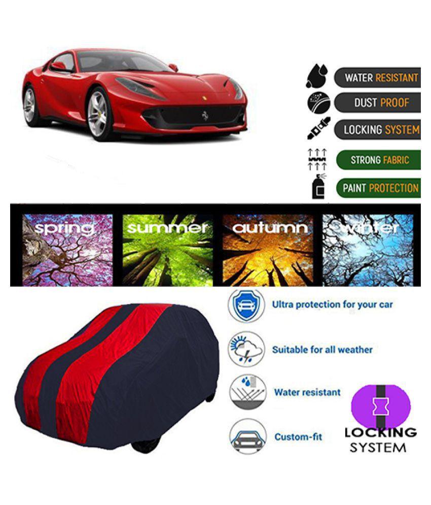 Goldkart Car Body Cover for Ferrari Portofino Maroonblue
