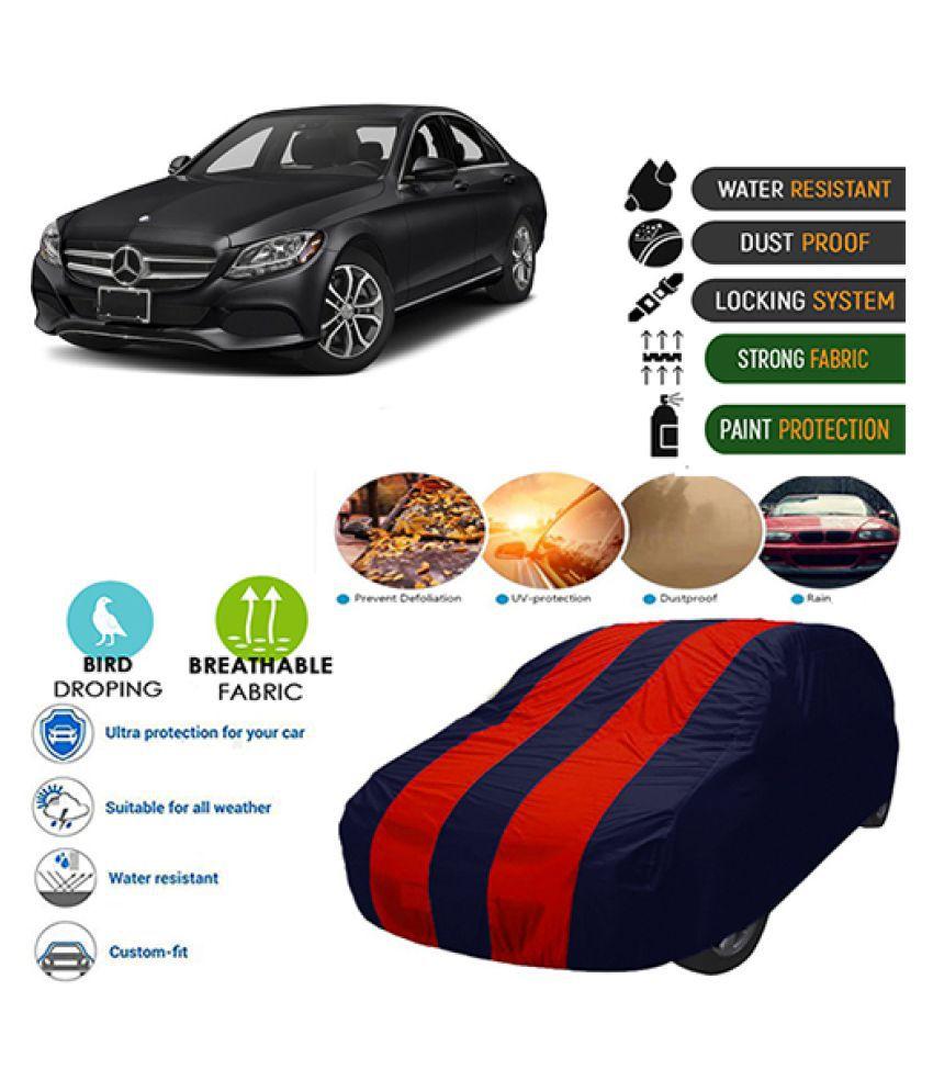 Goldkart Car Body Cover for Mercedes-Benz CLA 2020 Maroonblue