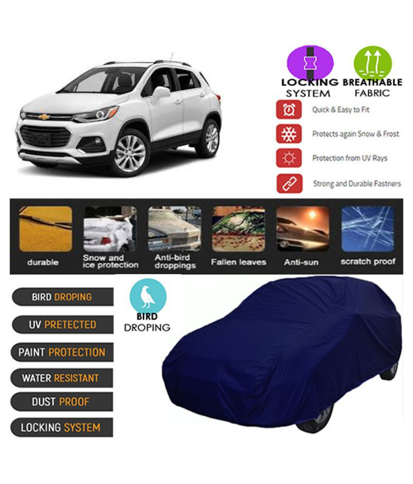 Goldkart Car Body Cover for Chevrolet Trax Blue