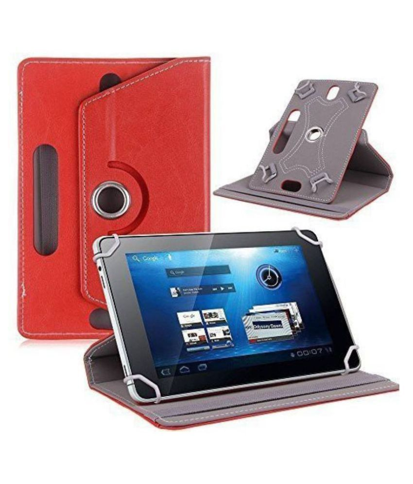 Iball Slide Penbook 10.1 Flip Cover By Cutesy Red