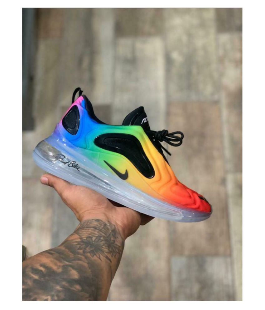 reservorio simultáneo Ejército  NIKE AIR MAX 720 RAINBOW BE TRUE Multi Color Running Shoes - Buy NIKE AIR  MAX 720 RAINBOW BE TRUE Multi Color Running Shoes Online at Best Prices in  India on Snapdeal