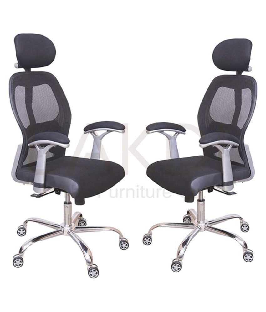 Excellent Director Manager Executive High Back Office Chair In Black Color Set Of 2 Combo 134119 11 C Gmtry Best Dining Table And Chair Ideas Images Gmtryco