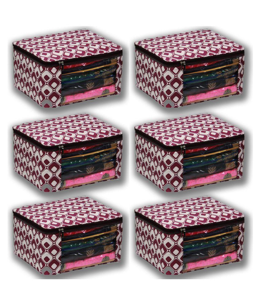 THOBHAN Multi Saree Covers - 6 Pcs