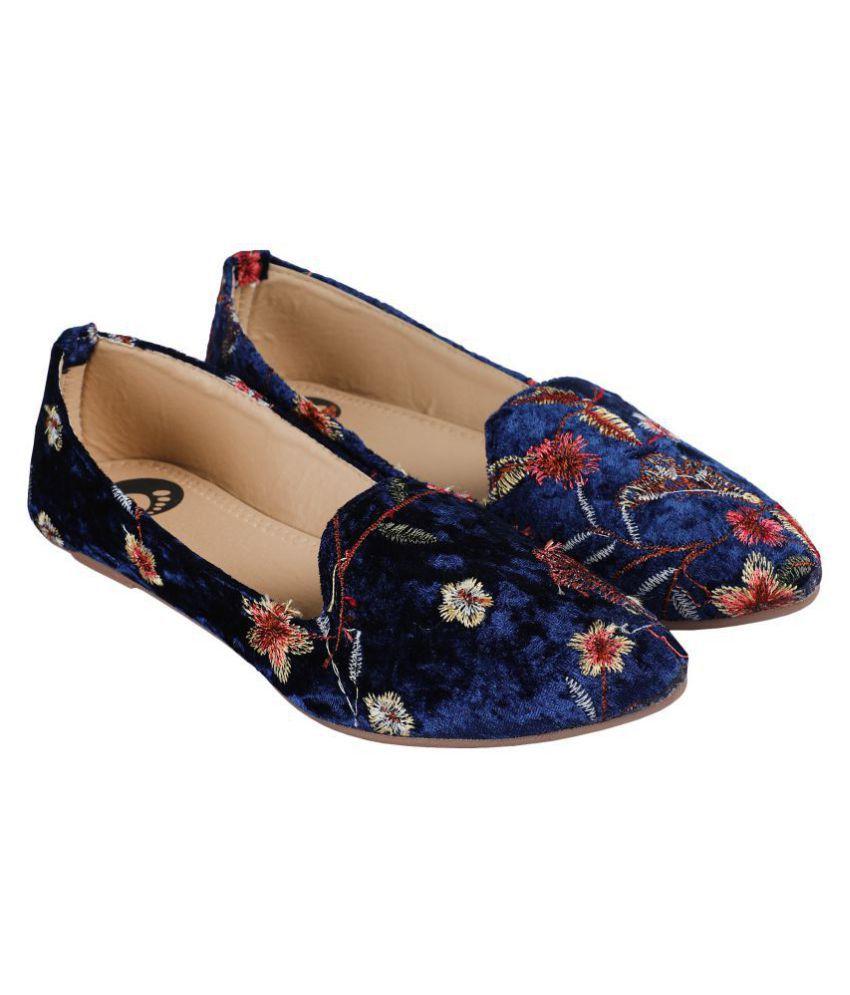 ZAVO Blue Casual Shoes