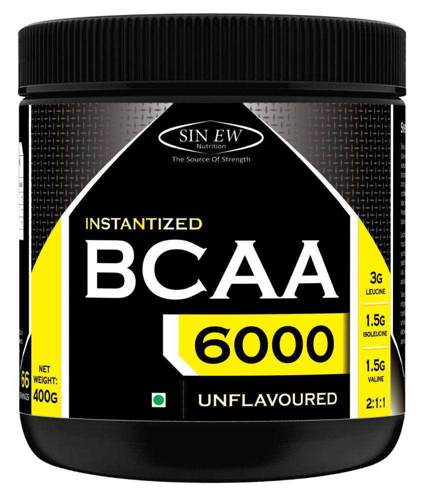 Sinew Nutrition Instantized BCAA 2:1:1, 400 gm