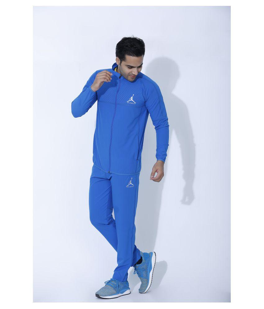 Nike Air Jordan Blue Polyester