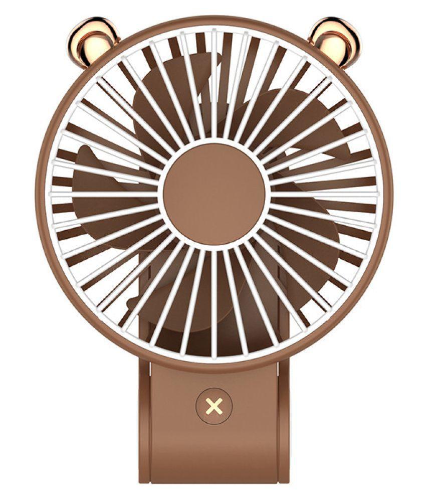 Mini Fan Mini-USB Rechargeable Hand-held Electric Fan Folding Portable Desk Fan