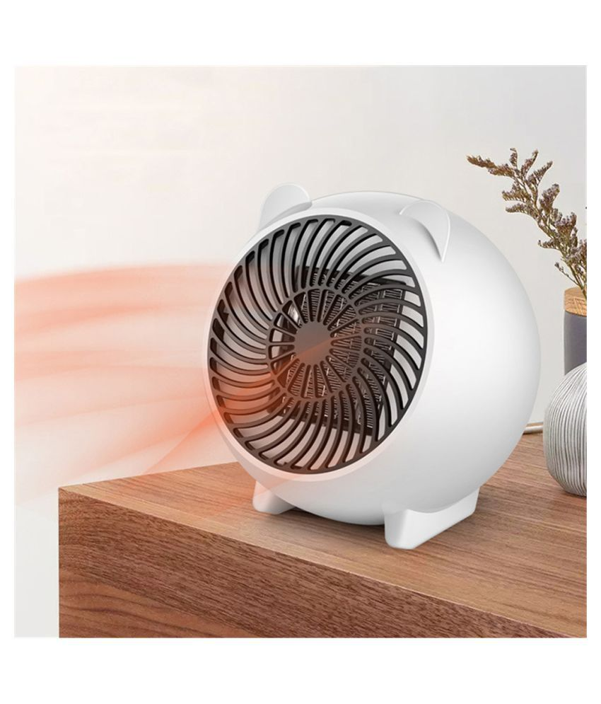 Portable Fan Heater Desktop Cartoon Heater For The Office & Home