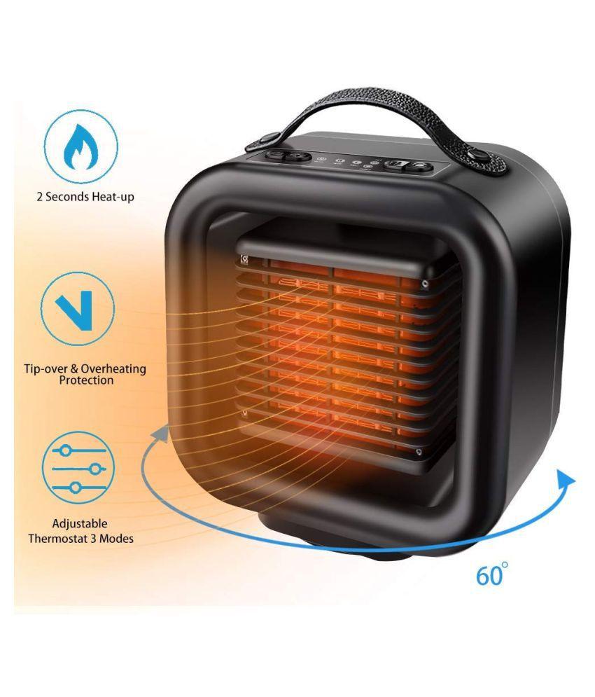 Portable Heater Fan Thermostat Electric Heater Fan Space Heater Warm Heater