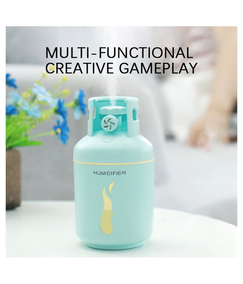 Essential Oil Diffuser Aromatherapy Cool USB mini car home silent Mist Humidifie