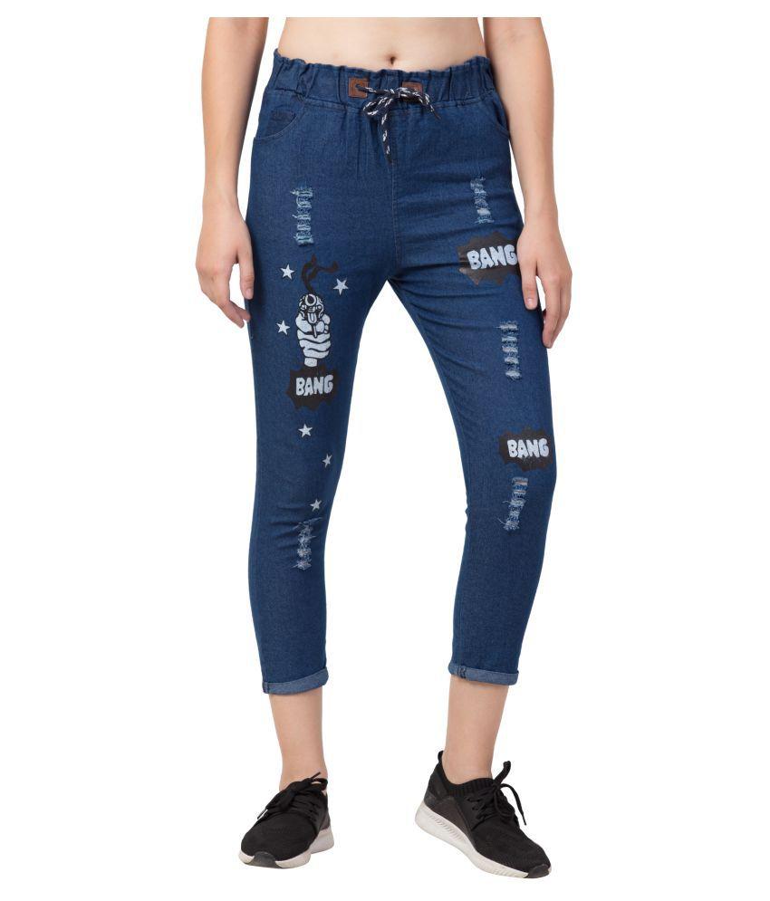 SAKSHITRADERS Denim Jeans - Blue