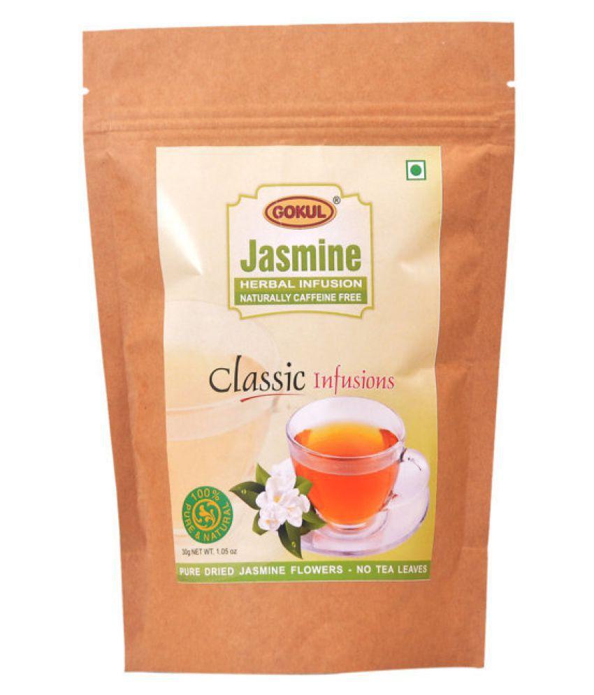 Gokul Jasmine Tea Loose Leaf 30 gm Pack of 3