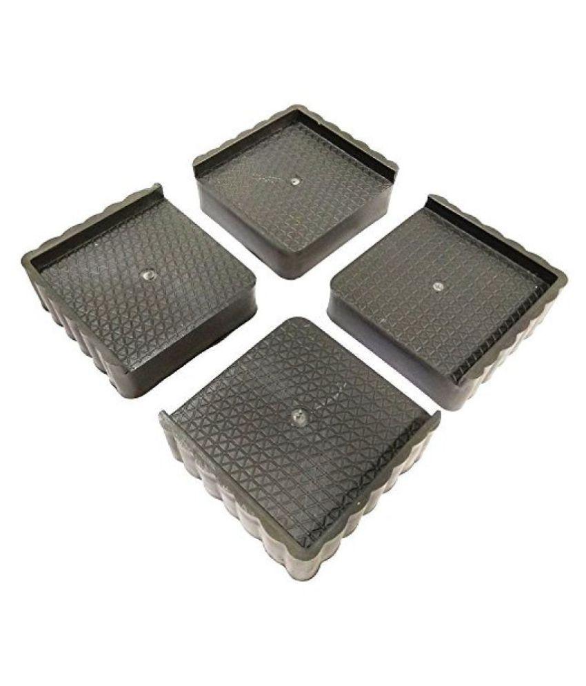 Accent Plastic Almirah, Wardrobe, Refrigerator,Washing Machine Multipurpose Stand  Grey