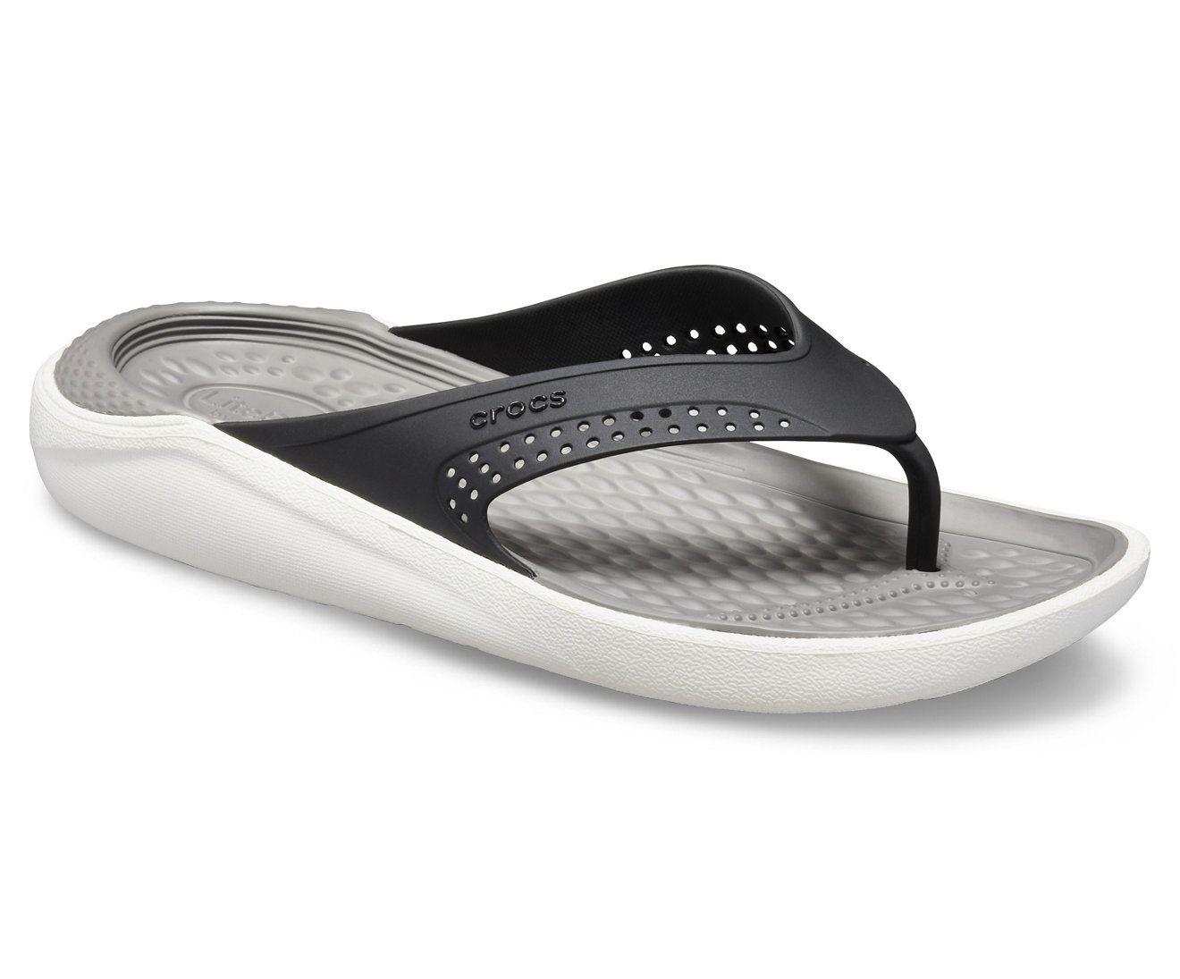 Crocs LiteRide Kids Black Flip