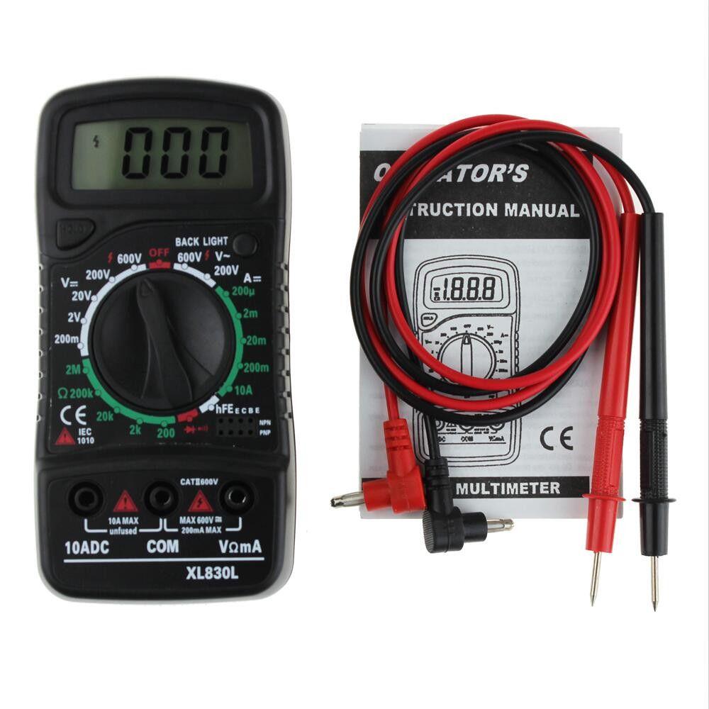 XL-830L Handheld LCD Digital Multimeter 3 1//2 Voltmeter Ohmmeter Multitester F7