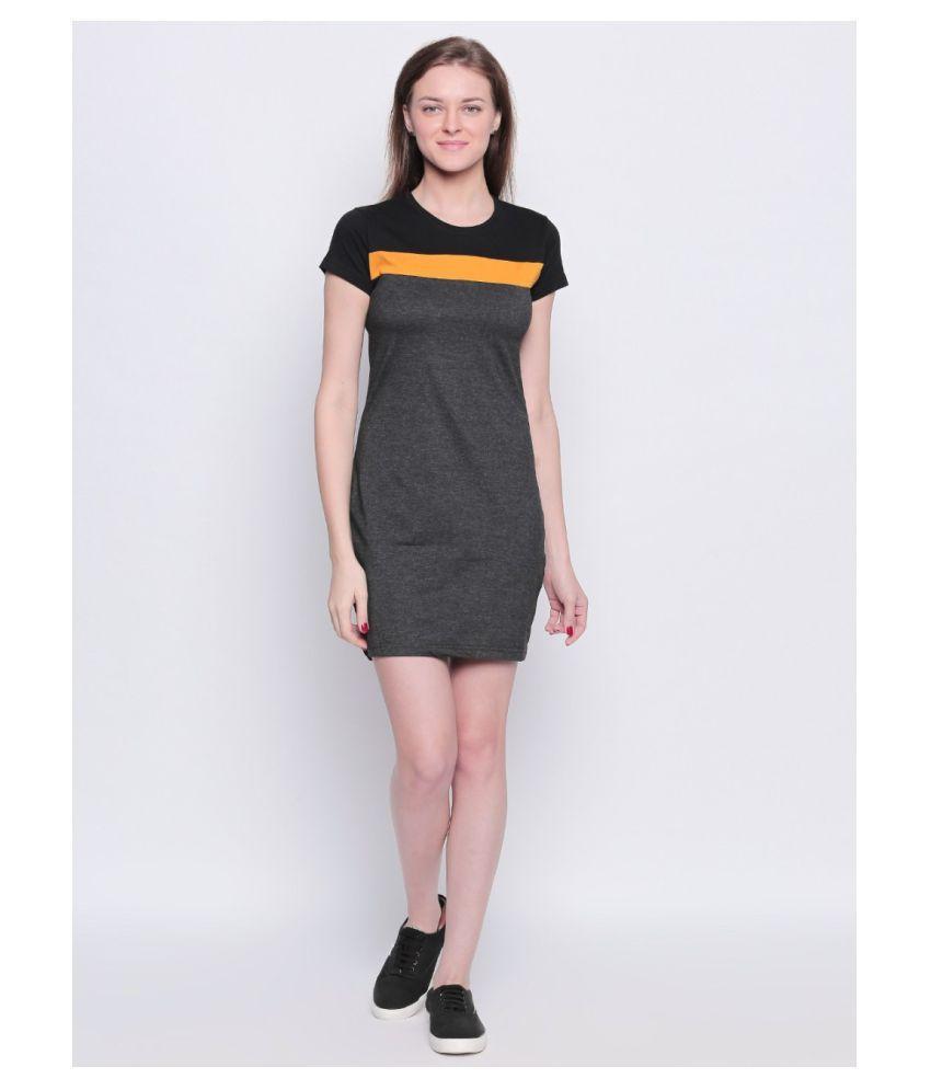 Bombay Clothing Company Cotton Multi Color Regular Dress