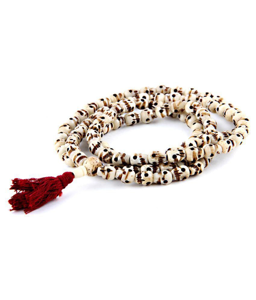 Goddess Kali Mala, Carved 108+1 Beads Mala Rosary Indian Goddess Kali Prayer Necklace Mala