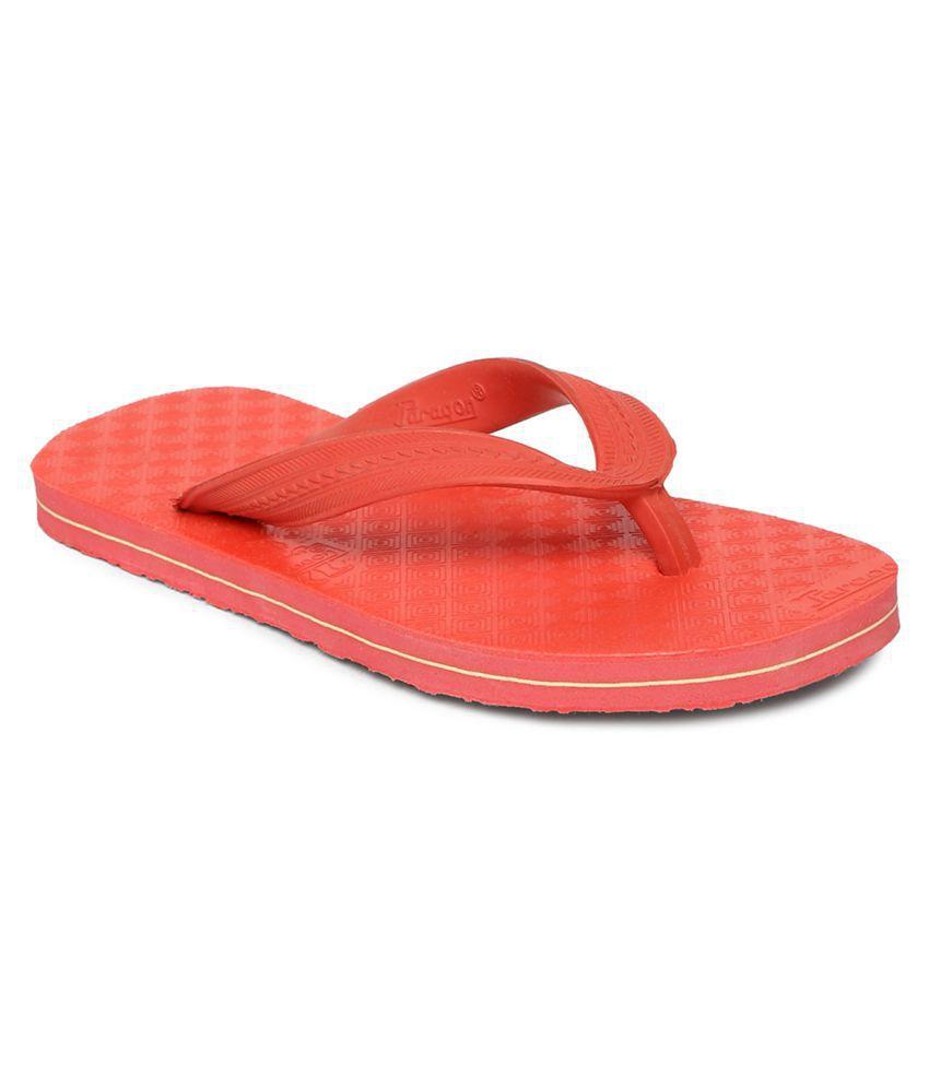 Paragon Kids Red Flip-Flops Slippers