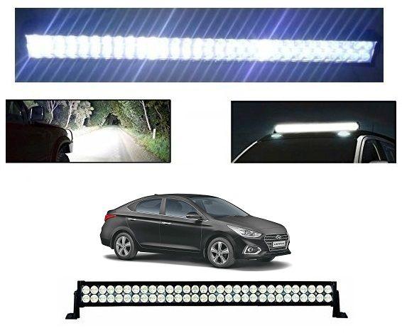 Trigcars Hyundai Verna 2018 Bar Light Fog Light 51Inch 120Watt