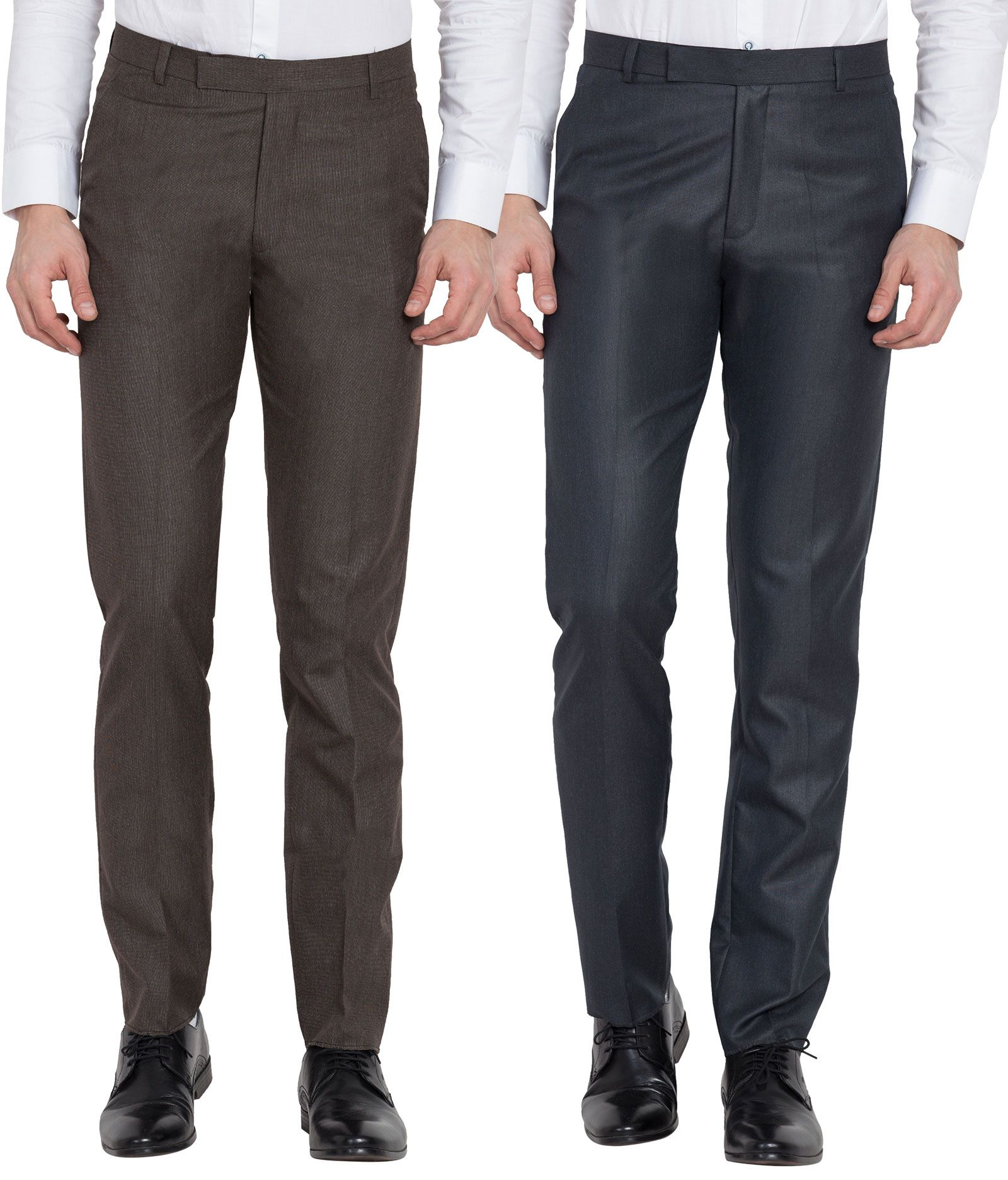 Cliths Multicolored Slim -Fit Trousers