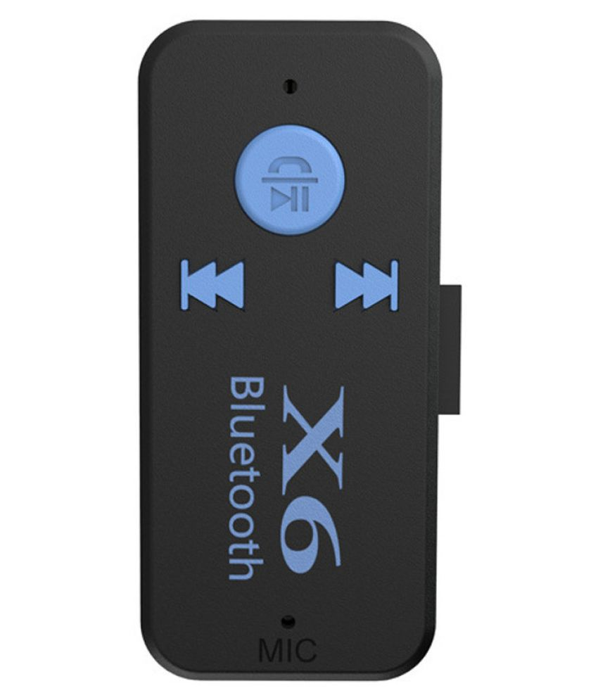 Wireless X6 Mini 4.1 Bluetooth Audio Receiver Adapter  Car Mp3 Music Receiver