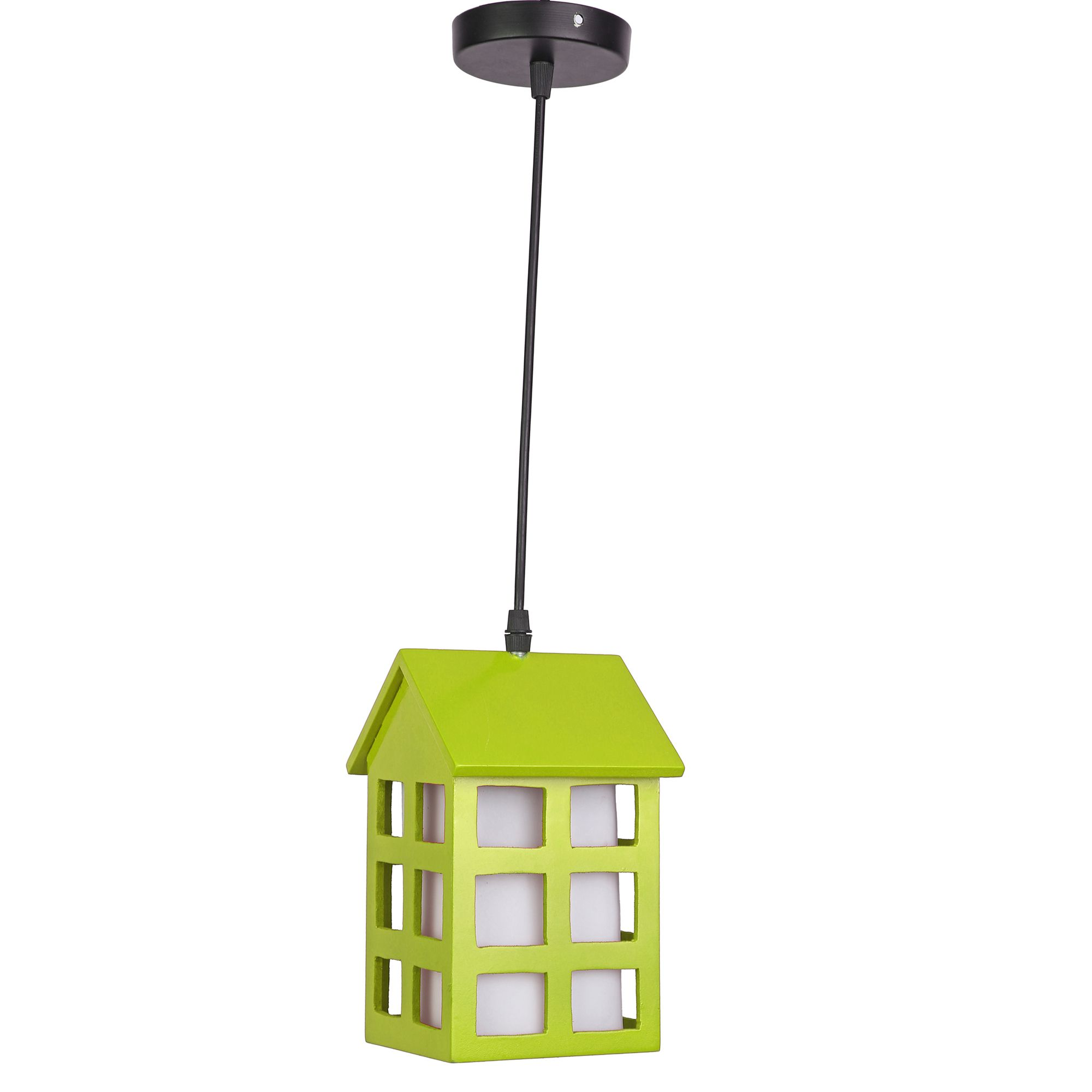AFAST Glass Exclusive Hanging Light Pendant Green - Pack of 1