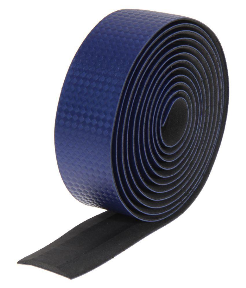 2x Bike Cycling Cork Handlebar Tape Grips+2 Bar Plug Carbon Fiber Belt Straps