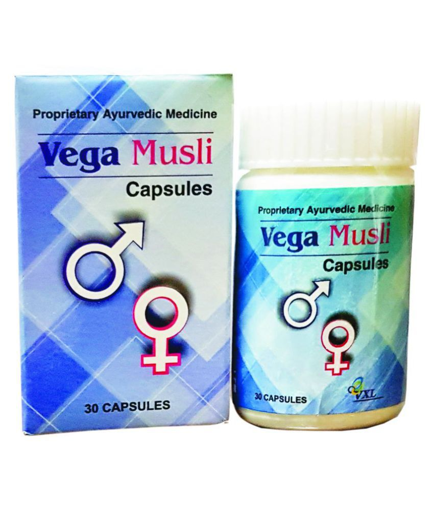 VEGA MUSLI Male & Female Capsule 30 no.s Pack Of 1