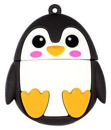 Pankreeti PKT496 Penguin 16GB USB 2.0 Fancy Pendrive Pack of 1