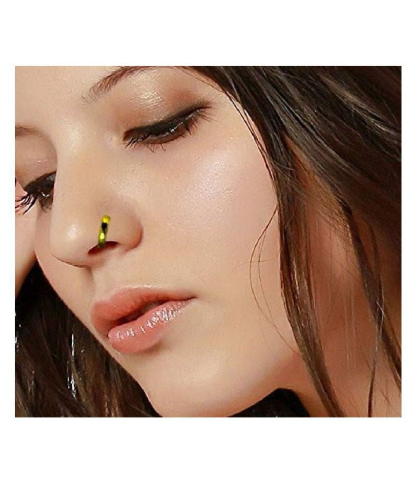 Nose Ring 18k Gold Plated Bali For Women And Girls Buy Nose