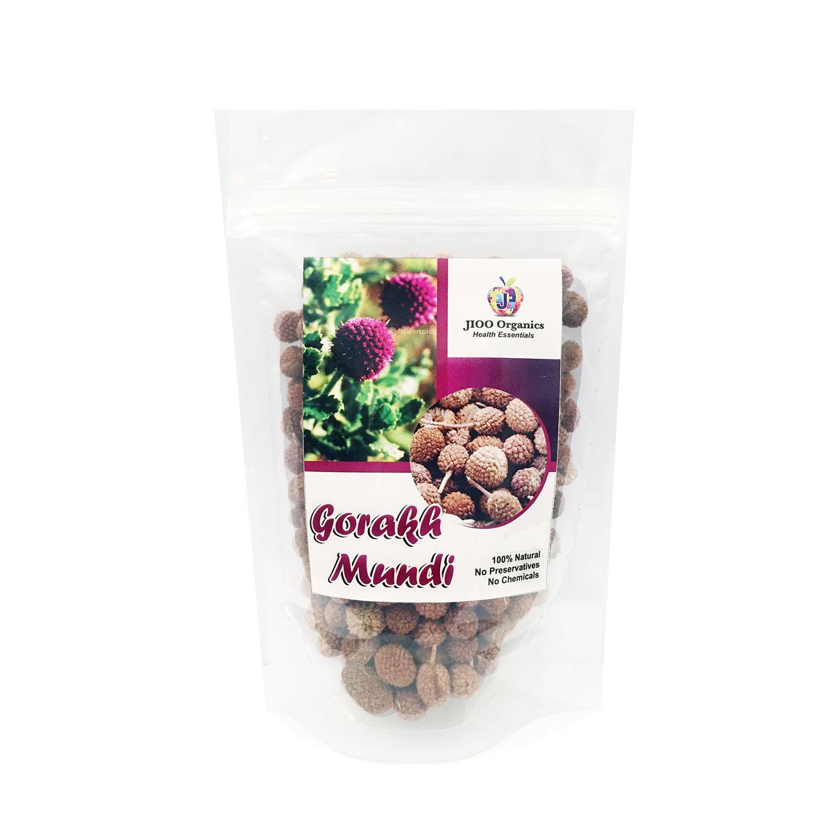 Jioo Organics Gorakhmundi Sphaeranthus Indicus Raw Herbs 1 gm