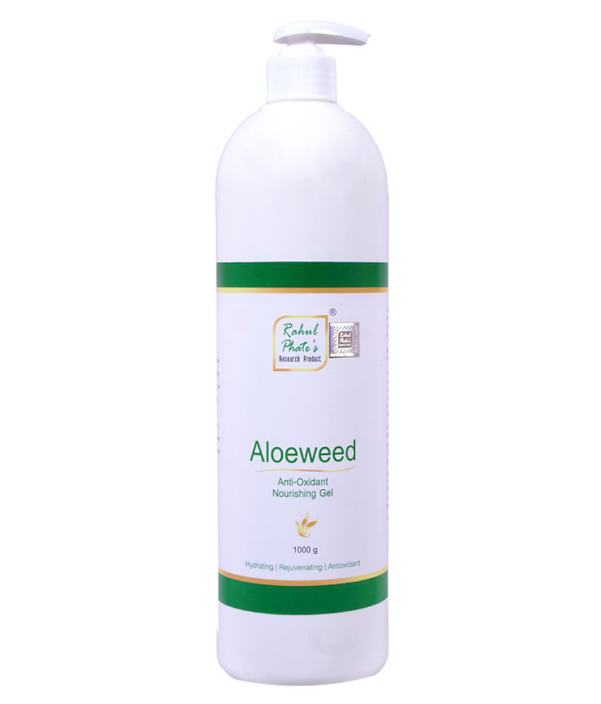 Rahul Phates Innovations AloeweedAnti-OxidantMicroNourishingGel Aloeweed 1000g Moisturizer 1000 gm